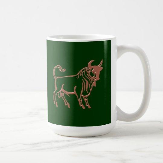 Sternzeichen Stier zodiac sign Taurus Kaffeetasse