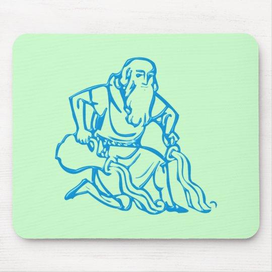 Sternzeichen Wassermann zodiac sign Aquarius Mousepad