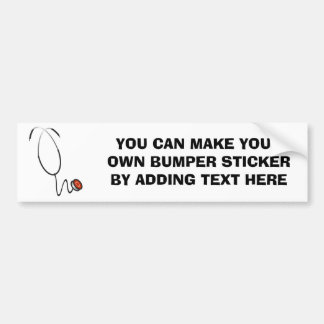 Stethoskop-T-Shirts und Geschenke Autoaufkleber