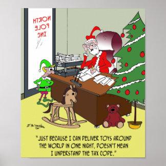 Steuer-Cartoon 9532 Poster