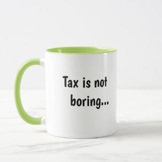 Steuer-nicht langweiliges grausames lustiges tasse