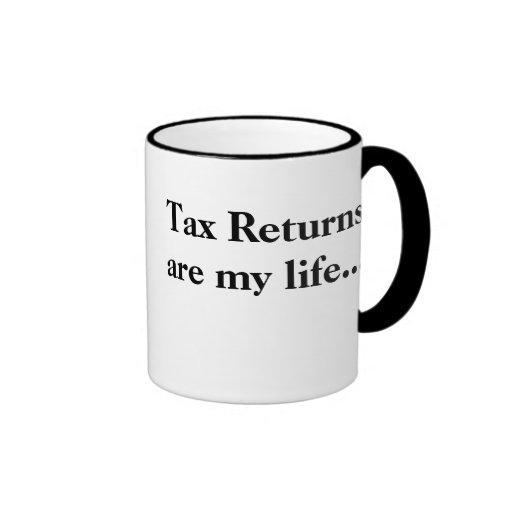 Steuererklärungen sind mein Leben…. - Profunde Ste Tasse