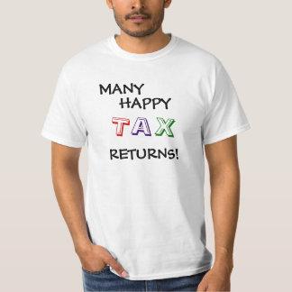Steuererklärungs-lustiger T-Shirt
