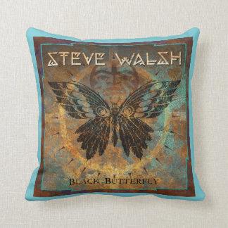 Steve-Kissen - schwarzer Schmetterling Kissen