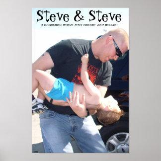 Steve u. Steve Poster