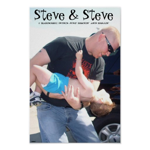 Steve u. Steve Plakat
