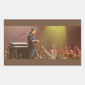 Steve Walsh schaukelt Aufkleber