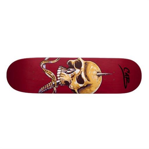 "SteveCaballero ""Schädel "" Personalisierte Skateboards"