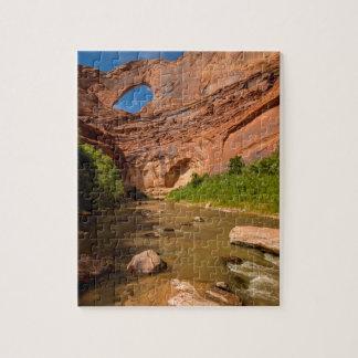 Stevens-Bogen - Escalante-Fluss- Utah Puzzle