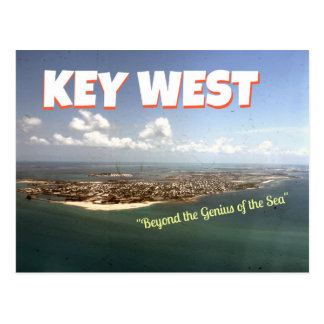 Stevens-themenorientierte Postkarte Key Wests