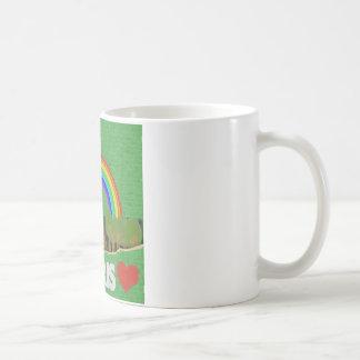 Stich-Eiffelturm Kaffeetasse