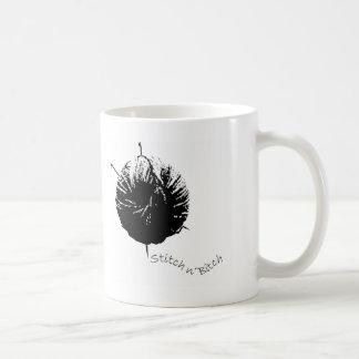 Stich Kaffeetasse