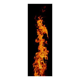 Stichflamme Poster