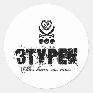 Sticker *3typen*