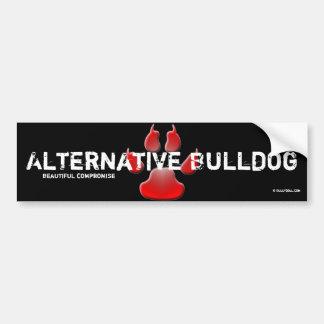 Sticker Alternative Bulldog Autoaufkleber