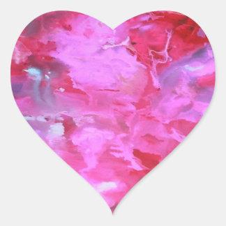 """Sticker """" Aquarell"""" pink"""