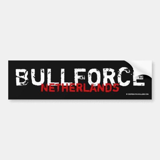 Sticker Bullforce Autoaufkleber
