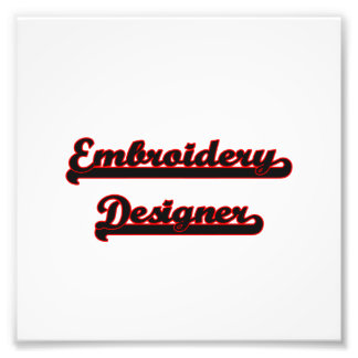 Stickerei-Designer-klassischer Job-Entwurf Foto