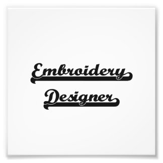 Stickerei-Designer-klassischer Job-Entwurf Kunstphotos