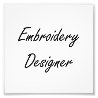 Stickerei-Designer-künstlerischer Job-Entwurf Photo