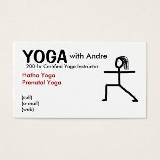 stickman3, YOGA, mit Andre, bestätigte YogaIns… Visitenkarte