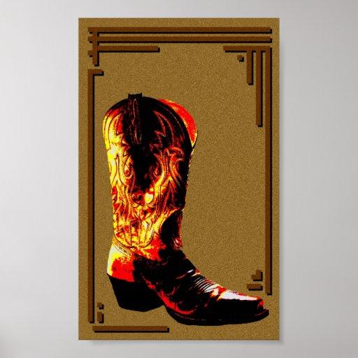 Stiefel Posterdrucke