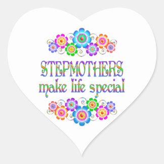Stiefmütter machen LebenSpecial Herz-Aufkleber