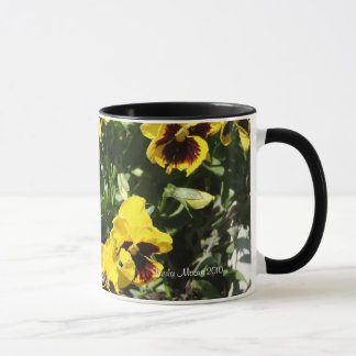 Stiefmütterchen-Tasse Tasse