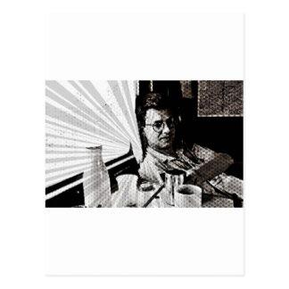 Stieg Grau-Sonnendurchbruch Postkarte