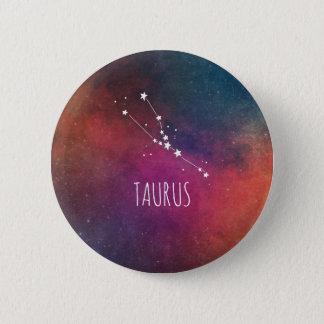 Stier-Astrologie Runder Button 5,7 Cm