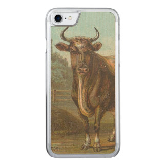 Stier Carved iPhone 8/7 Hülle