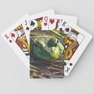 Stier-Frosch-Spielkarten Spielkarten