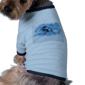 Stier hochauflösend hund t shirts