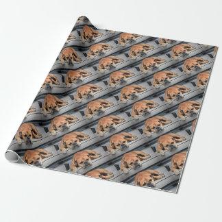 Stier-Hund Geschenkpapier