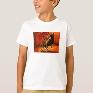 Stier-Kämpfer und EL Toro T-Shirt
