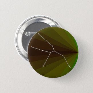 Stier-Konstellation Runder Button 5,7 Cm