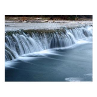 Stier-Nebenfluss-Wasserfall, Morgen in Austin Postkarte