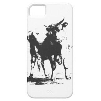Stier-Pop-Kunst iPhone 5 Etui