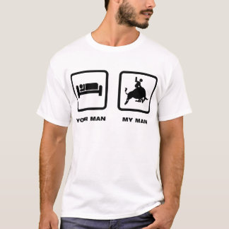 Stier-Reiten T-Shirt