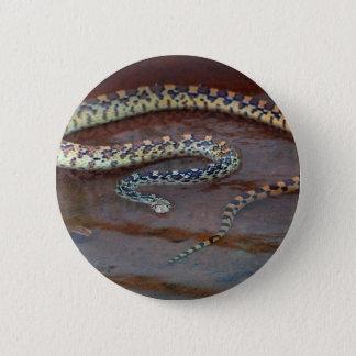 Stier-Schlange Runder Button 5,1 Cm