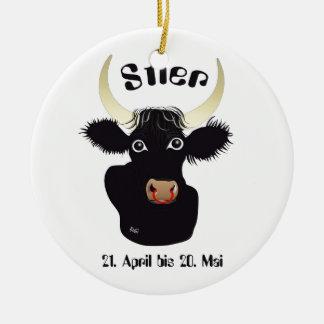Stier - Sternzeichen Ornament