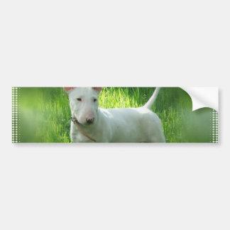 Stier-Terrier-Autoaufkleber