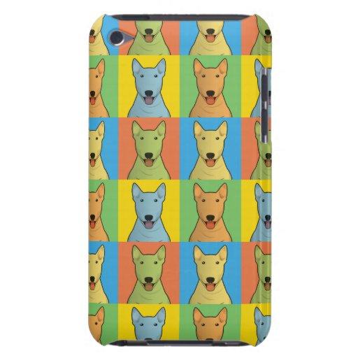 Stier-Terrier-HundeCartoon Pop-Kunst iPod Touch Hüllen