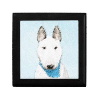 Stier-Terrier-Malerei - niedliche ursprüngliche Geschenkbox