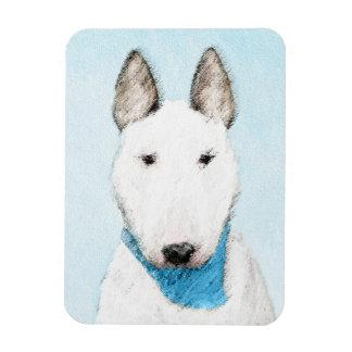Stier-Terrier-Malerei - niedliche ursprüngliche Magnet