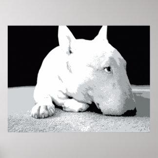 Stier-Terrier-Pop-Kunst-Druck Plakatdrucke