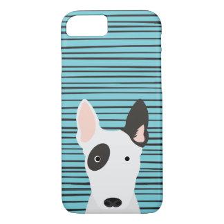 Stier-Terrier und Hand gezeichnetes iPhone 8/7 Hülle