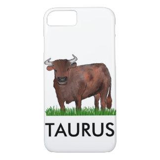 Stier-Tierkreis-Kunst-Telefon-Kasten iPhone 8/7 Hülle