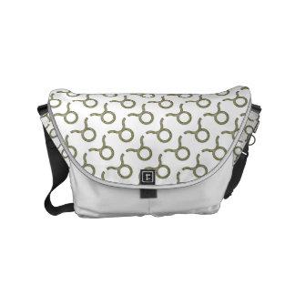 Stier-Tierkreis-Symbol-Element Kurier Tasche