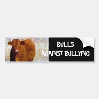 Stiere gegen die Einschüchterung von #10 von 14 Autoaufkleber